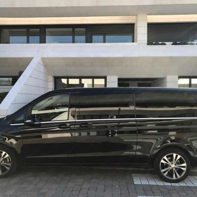 Alquiler de furgoneta de lujo con conductor | ChoferMadrid