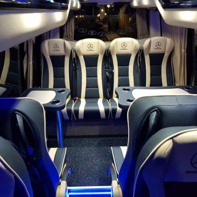 Alquiler de microbus de lujo con chofer privado | ChoferMadrid