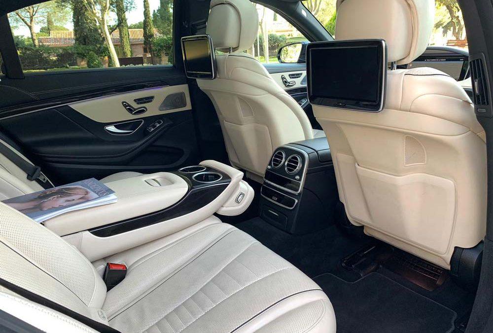 Alquiler de coche de lujo con conductor   ChoferMadrid