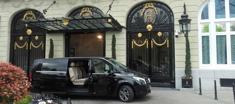 Alquiler de furgonetas con chofer en Madrid | ChoferMadrid